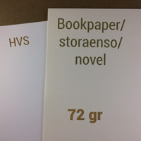 kertas bookpaper | 72 gr | A5 | 1 rim | book paper | novel | storaenso