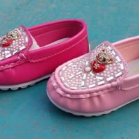Jual Sepatu Anak Karet Teddy Bear Pantofel Diamond Children Murah Grosir Murah