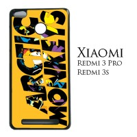 Arctic Monkeys Logo Orange Background 0188 Casing for Xiaomi Redmi 3S