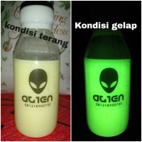 Jual CAT Fosfor Glow in the dark Tosca 100 gram Murah