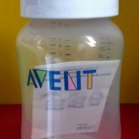 Avent Storage Bottle Penyimpan Asi Classic 260ml Sealing Disc Avent