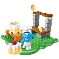 Mega Bloks Smurf - Mainan Baker Smurf