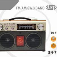 harga Speaker Kayu Usb, Memory + Radio 3band Sn 773 Tokopedia.com