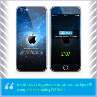Garskin HP gambar Apple in Black stiker