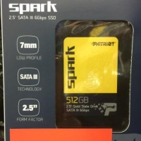 Patriot Spark SSD 512GB SATA III