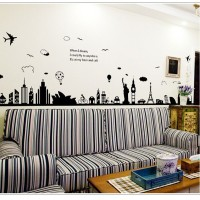 Wallpaper stiker Paris When I Dream XY1148 - Stiker Dinding / Wall