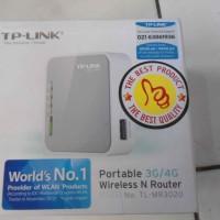 TP-LINK WiFi Portabel TL-MR3020 3G/4G LTE GSM & CDMA 150Mbps Router