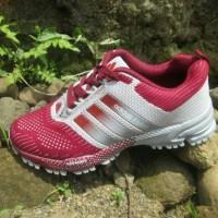 Sepatu Olahraga Senam Murah Adidas Flyknit Wanita Running Grade Ori