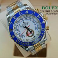 Jam Tangan Rolex Yacht Master Ii Silver Combi Gold White Dial