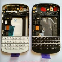 Casing Bb / Blackberry Q10 / Q 10 Housing Fullset Original