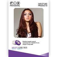 Kawaii [ Ukuran besar ] FIX PROFESSIONAL Hairlasting Pomade Flexible F