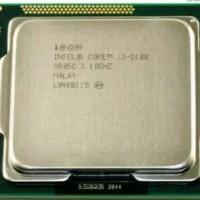 Intel prosesor core i3 2100 LGA 1155 + fan original