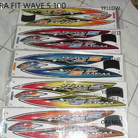 Promo striping motor honda wave s 100 Termurah