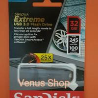 MURAH SANDISK FLASHDISK EXTREME 32GB 245MB/S USB 3.0 - 32GB 245 MB/S
