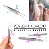 [11cm] Pinset Komedo / Pinset Jerawat [STAINLESS STELL]