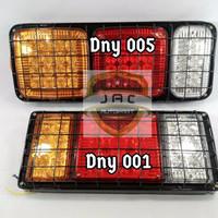 Stop Lamp LED + Ram 3 Warna untuk Truk / Fuso / Kendaraan Besar [DNY00