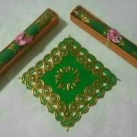 Souvenir Pernikahan Tatakan Gelas Box Mika