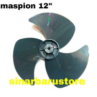 BALING KIPAS ANGIN MASPION PLASTIK 12 INCHI