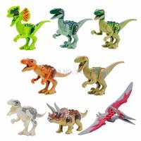 Lego Dino YG 77001 Jurassic World Dinosaurus 1 Set (8 Karakter)