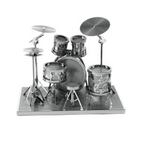 Fascinations Metal Earth Rock Band Drum Set