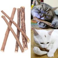 Jual Kucing/Cat Snack Makanan Stick dari Tanaman Matatabi / Teeth Cleaning Murah