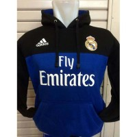Sweater Hoodie Real Madrid R-331 El Real Hala Madrid Los Blancos Home