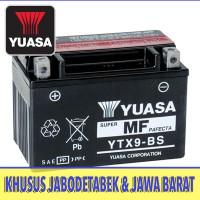 Baterai / Aki Suzuki Bandit 400 GSX 400 YUASA YTX9-BS Eksport Quality