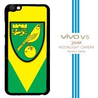 Norwich City Football Club A0089 Casing Premium Vivo V5 Custom Case