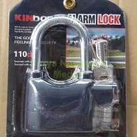 Gembok Bunyi Sensor Alaram Alarm Alram Kunci Lock Kinbar Anti Maling