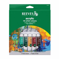 EXCLUSIVE Reeves 18 Acrylic Color Set