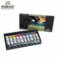 EXCLUSIVE Rembrandt Acrylic Colour Basic Set (10 X 40ml)