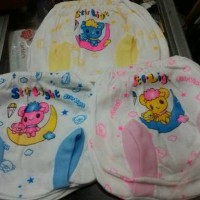 Celana pendek bayi model pop minimal 3 pcs