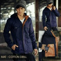 Jual JAKET PARKA DRILL COTTON SUPER PREMIUM Murah