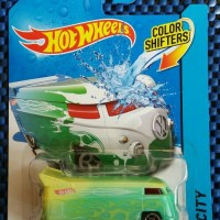 Hot Wheels City Drag Bus Color Shifters