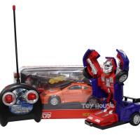 RC Remote Control Deformed Transformers Optimus Prime Car