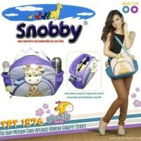 Jual Diaper bag/Tas bayi snobby medium boneka girrafe TPT 1576 Murah