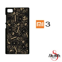 Coffee Addict Between Coffe and Apple 0169 Casing for Xiaomi Mi3 Hardc