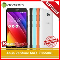 Asus Zenfone MAX ZC550KL 32GB GARANSI RESMI 1THN ORIGINAL
