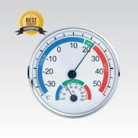 Thermometer Hygrometer Analog Body Plastik ( Top Quality ) Alat Ukur