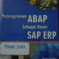 Buku Pemrograman ABAB Sebagai Dasar SAP ERP