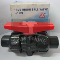 "Ball Valve PVC True Union SANKING 1/2"""