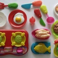 Mainan Masak Set Edisi Restoran Keliling