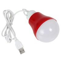 Jual Mini LED Bulb with USB Cable / USB Bohlam Lamp Light / Lampu Kabel LED Murah