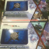 New 3ds Xl Monster Hunter Generations Diskon