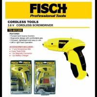 3,6v Cordless Screwdriver FISCH TS 601200, Mesin Bor Obeng,