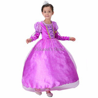 Rapunzel Tutu Princess Dress + Long Sleeve