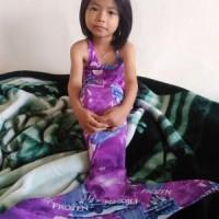 costum mermaid / KOSTUM PUTRI DUYUNG MERMED anak