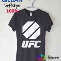T Shirt | Kaos Gildan UFC Octagon Logo