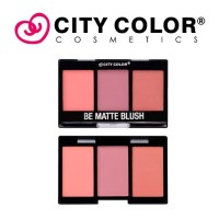 CITY COLOR - Mini Be Matte Blush Trio