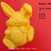 Cetakan Kue / Puding Bunny Easter